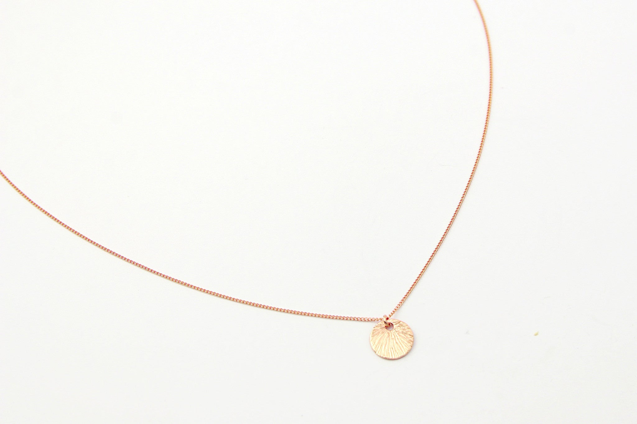 jewelberry necklace kette small shell curb chain rose gold plated sterling silver fine jewelry handmade with love fairtrade