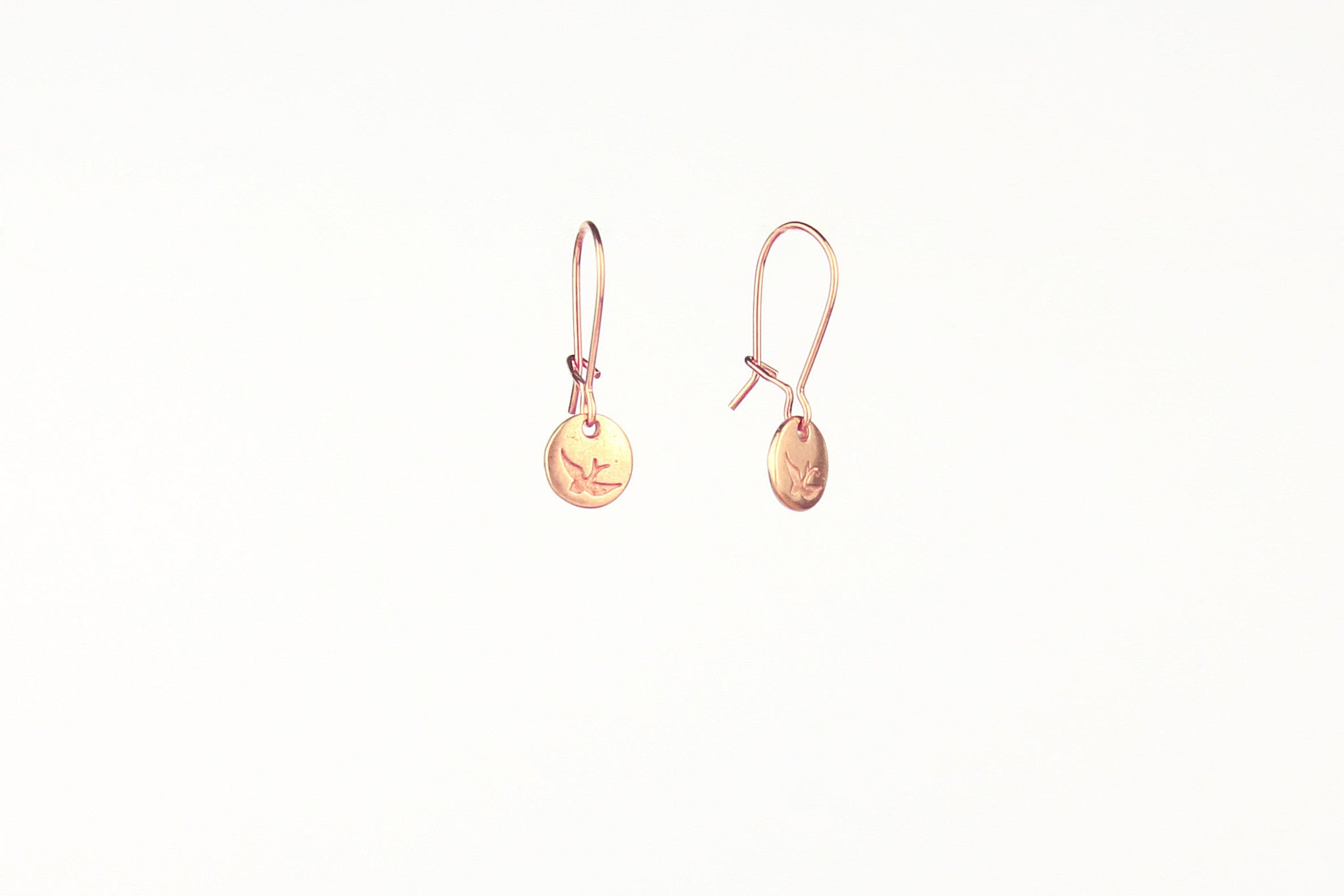 jewelberry ohrringe earrings bird token red gold plated sterling silver fine jewelry handmade with love fairtrade