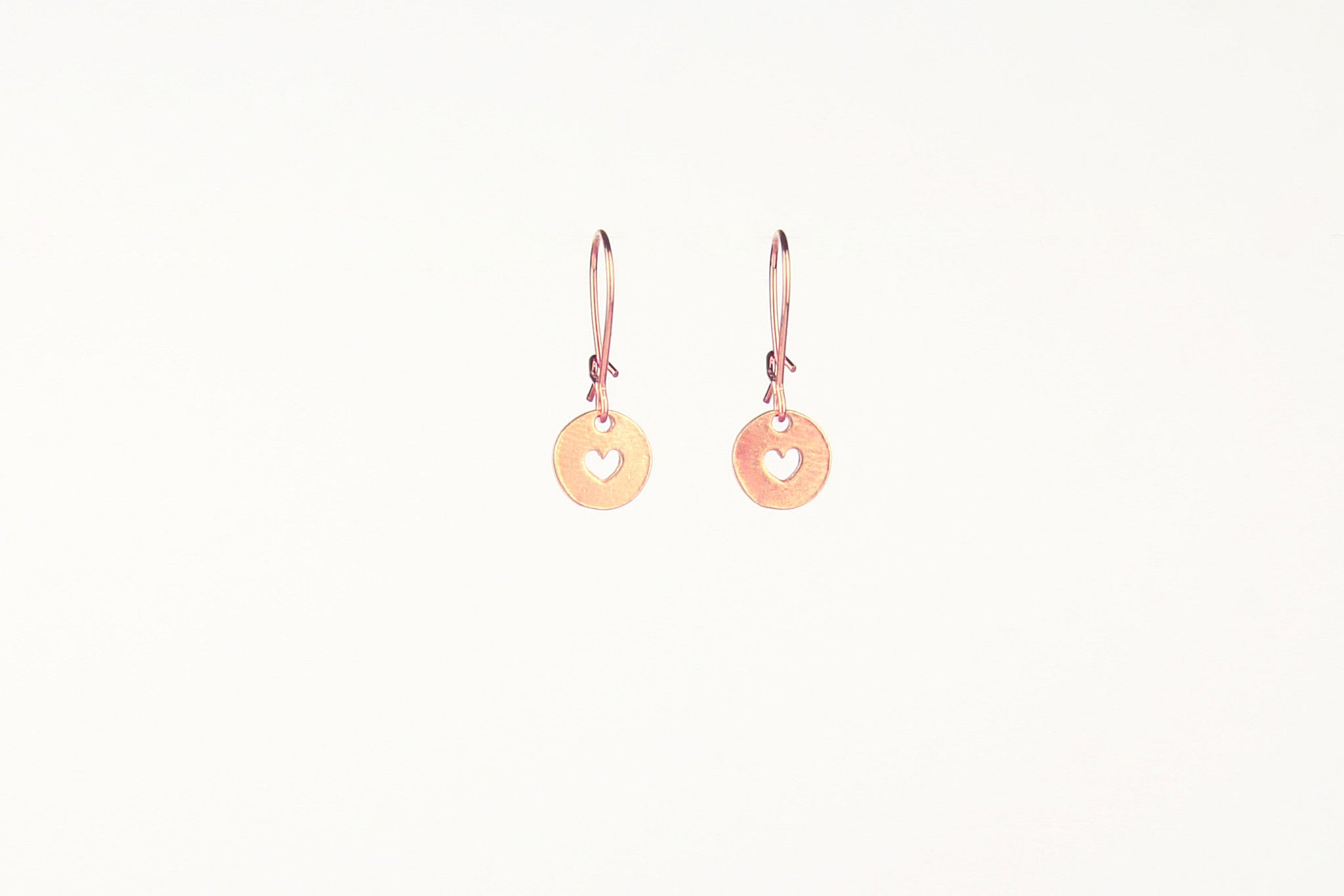 jewelberry ohrringe earrings love token rose gold plated sterling silver fine jewelry handmade with love fairtrade
