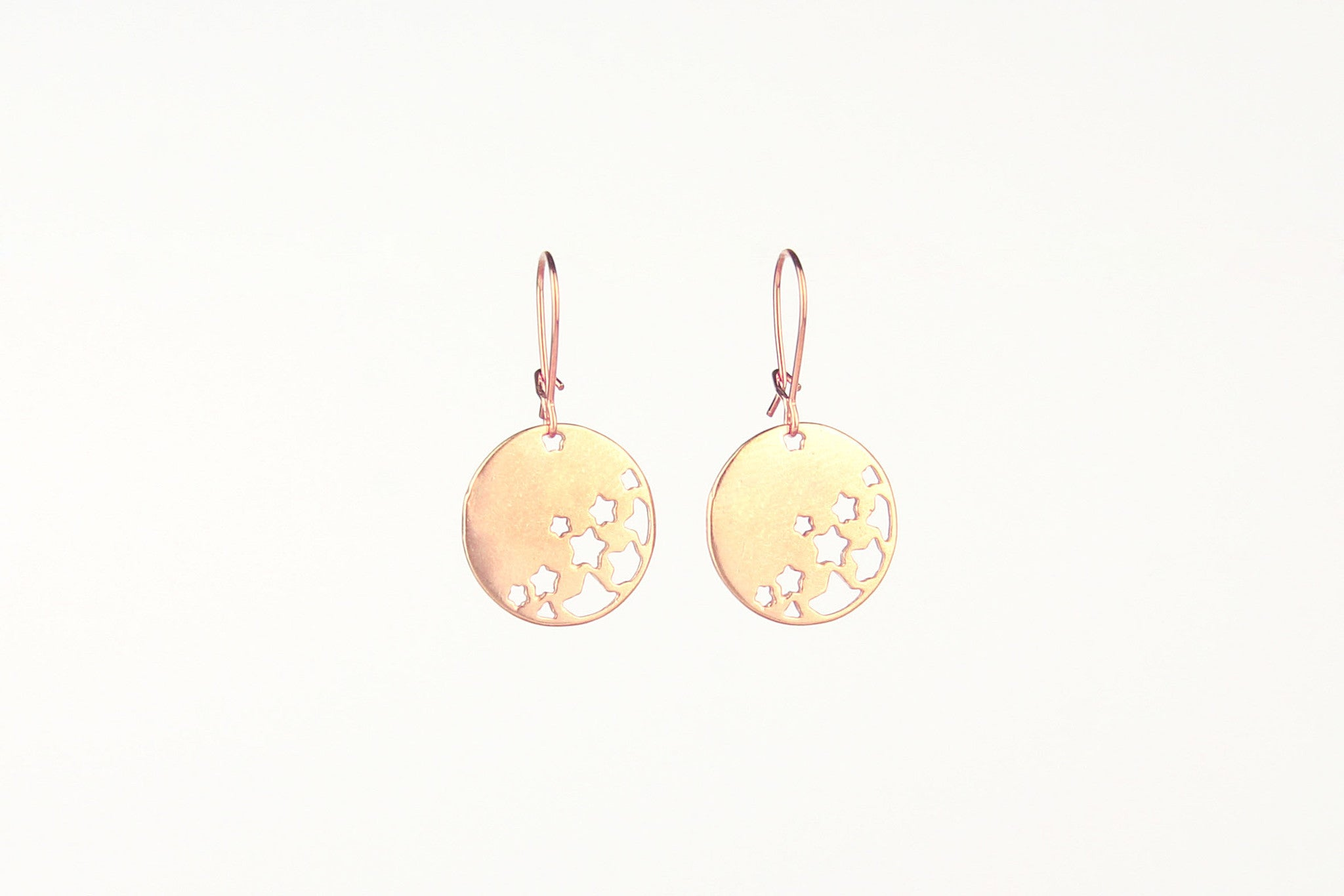 jewelberry ohrringe earrings night sky rose gold plated sterling silver fine jewelry handmade with love fairtrade