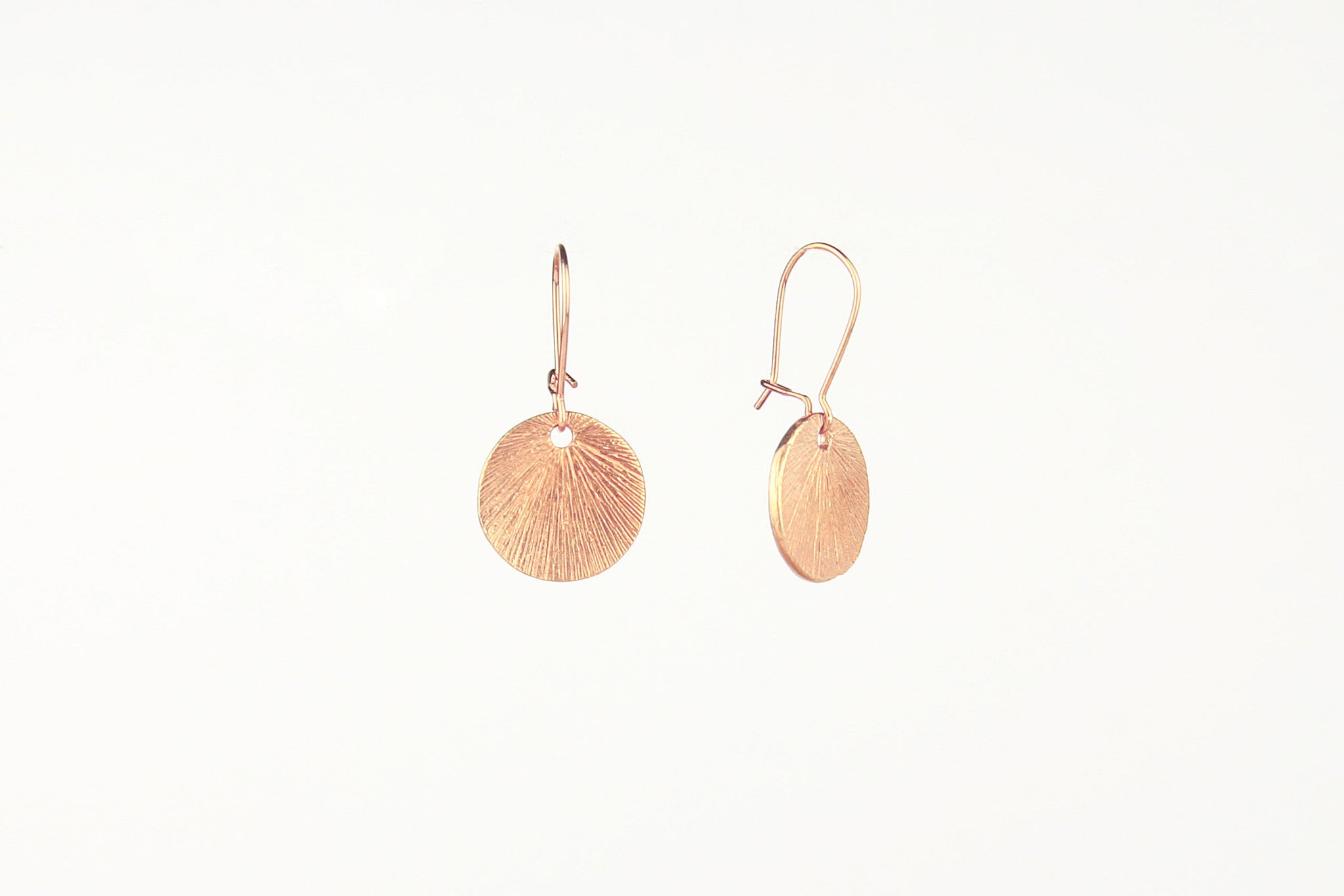 jewelberry ohrringe earrings medium shell rose gold plated sterling silver fine jewelry handmade with love fairtrade
