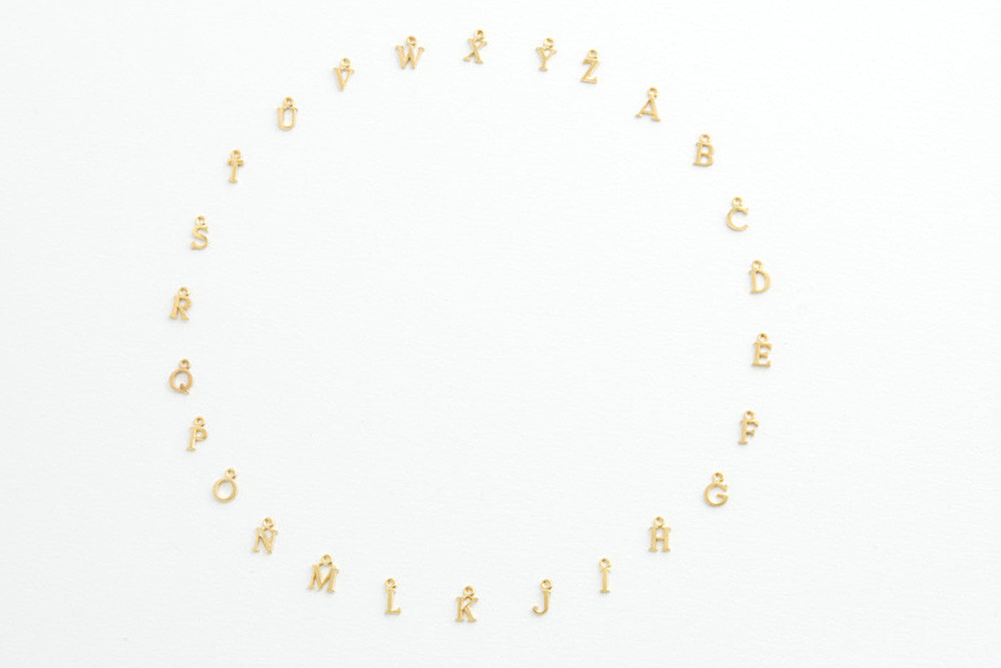 ....Kette ALPHABET BLAU vergoldet..Necklace ALPHABET BLEU gold plated....