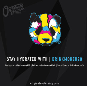 Stay Hydrated with | DrinkMoreH20