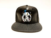 Graffiti Panders Leather - Reflective Strapback