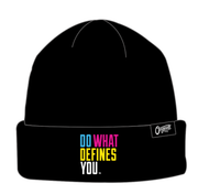 Do What Defines You - Beanie - Black/multi