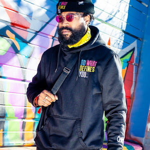 Do What Defines You™ Hoodie - Black/Multi