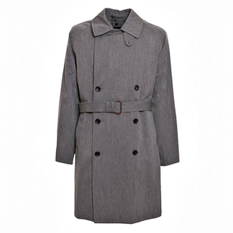 CORNELIANI Men's Wool-Blend Double-Breasted Coat - Fashion Res Publica  - 1