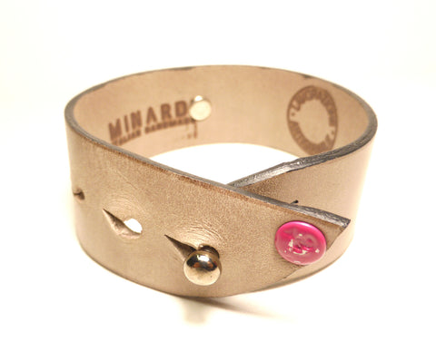 MINARDI Leather Bracelet Star - Fashion Res Publica  - 2