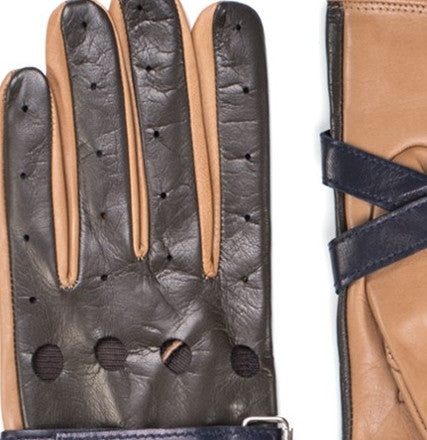 TOMMY HILFIGER COLLECTION Leather Strap Gloves - Fashion Res Publica  - 2
