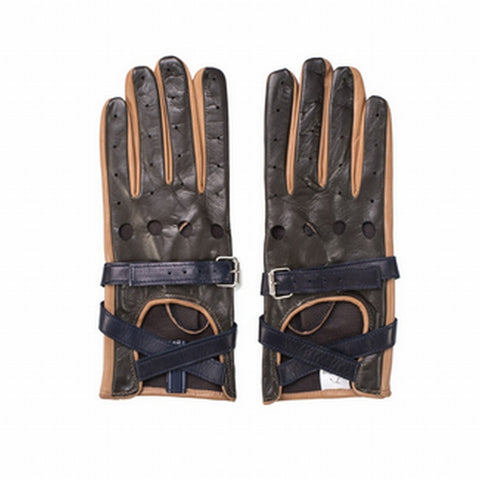 TOMMY HILFIGER COLLECTION Leather Strap Gloves - Fashion Res Publica  - 3