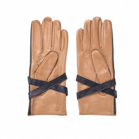 TOMMY HILFIGER COLLECTION Leather Strap Gloves - Fashion Res Publica  - 4