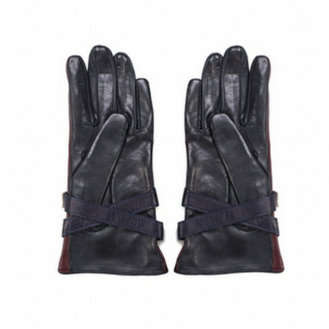 TOMMY HILFIGER COLLECTION Leather Gloves - Fashion Res Publica  - 2