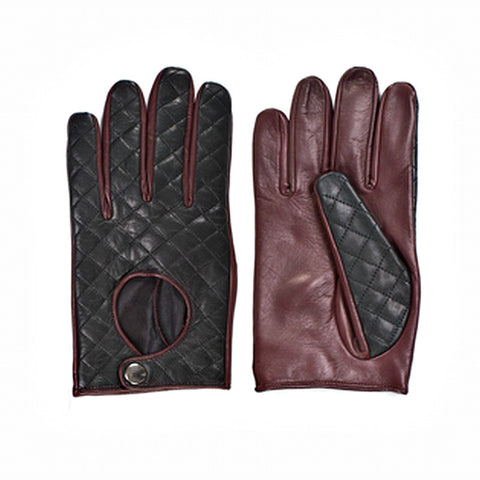 TOMMY HILFIGER Men's Riding Leather Gloves - Fashion Res Publica  - 1