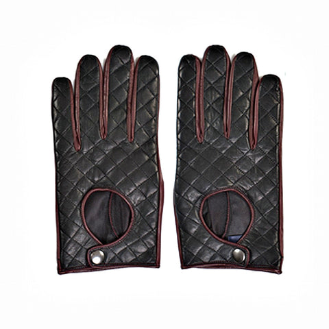 TOMMY HILFIGER Men's Riding Leather Gloves - Fashion Res Publica  - 2