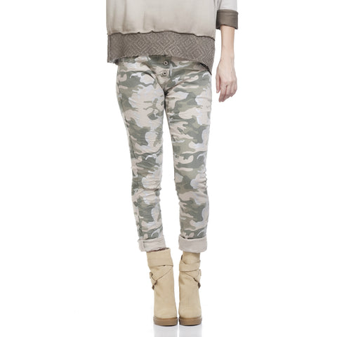 Tantra Cotton Blend Camouflage Pants