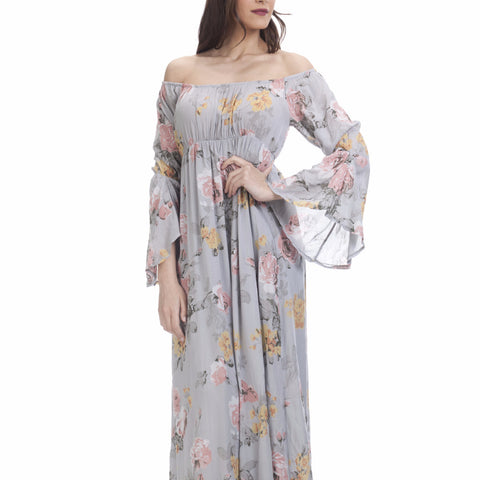 Tantra Chiffon Flower Pinted Dress