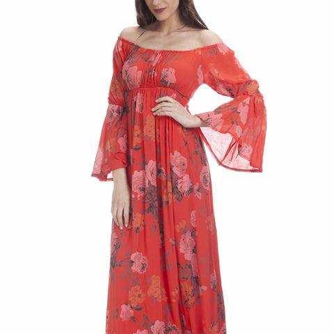 Tantra Flower Pinted Maxi Dress