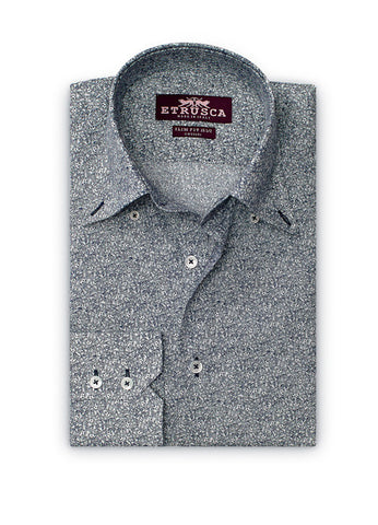 ETRUSCA Esecutivo Cotton Shirt - Fashion Res Publica  - 2