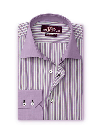 ETRUSCA Giorno Striped Shirt - Fashion Res Publica  - 2
