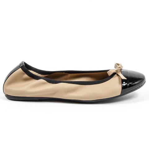 Versace 19.69 Vernice Soft Leather Ballerinas