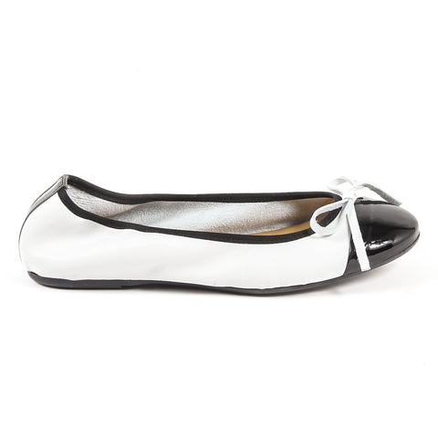 Versace 19.69 Soft Leather Ballerinas