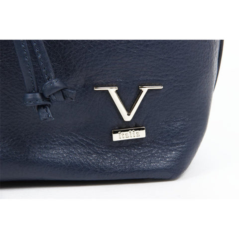Versace 19.69 V005 NAPPA BLU Leather Handbag - Fashion Res Publica  - 2