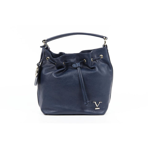 Versace 19.69 V005 NAPPA BLU Leather Handbag - Fashion Res Publica  - 1