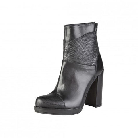 Made in Italia Morena Leather Ankle Boots