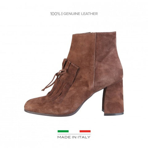 Made in Italia Luciana Suede Ankle Boots - Fashion Res Publica  - 5