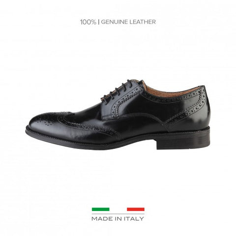 Made in Italia Renzo Leather Brogues - Fashion Res Publica  - 4