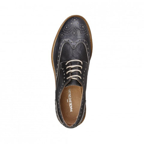 Made in Italia Livio Leather Brogues