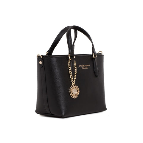 SCERVINO STREET Leather Small Shopping Bag - Fashion Res Publica  - 2
