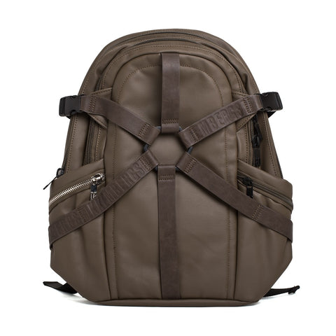 Bikkemberg Harness 3.0 Ecoleather and Cotton Backpack