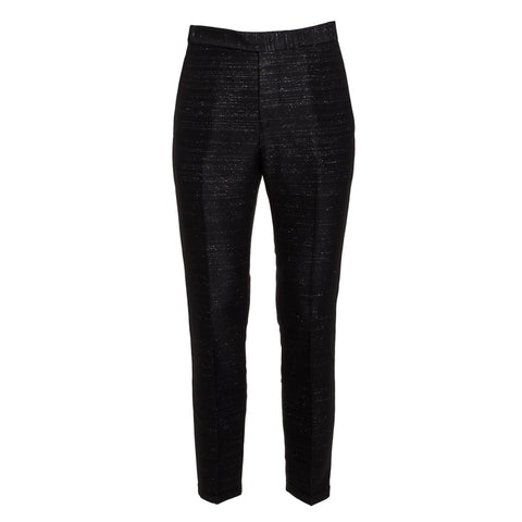 Costume National Men's Mixed Wool Slim Fit Trousers