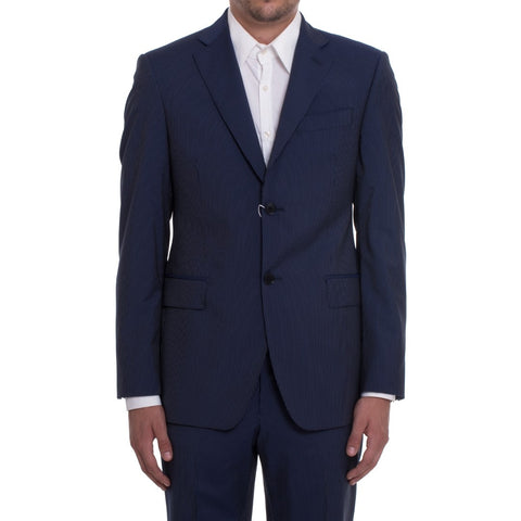 PIERRE BALMAIN Men's Blue Wool Suit