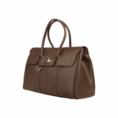 MADE IN ITALIA Women's MODENA Leather Top Handle Bag - Fashion Res Publica  - 2