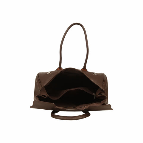 MADE IN ITALIA Women's MODENA Leather Top Handle Bag - Fashion Res Publica  - 3