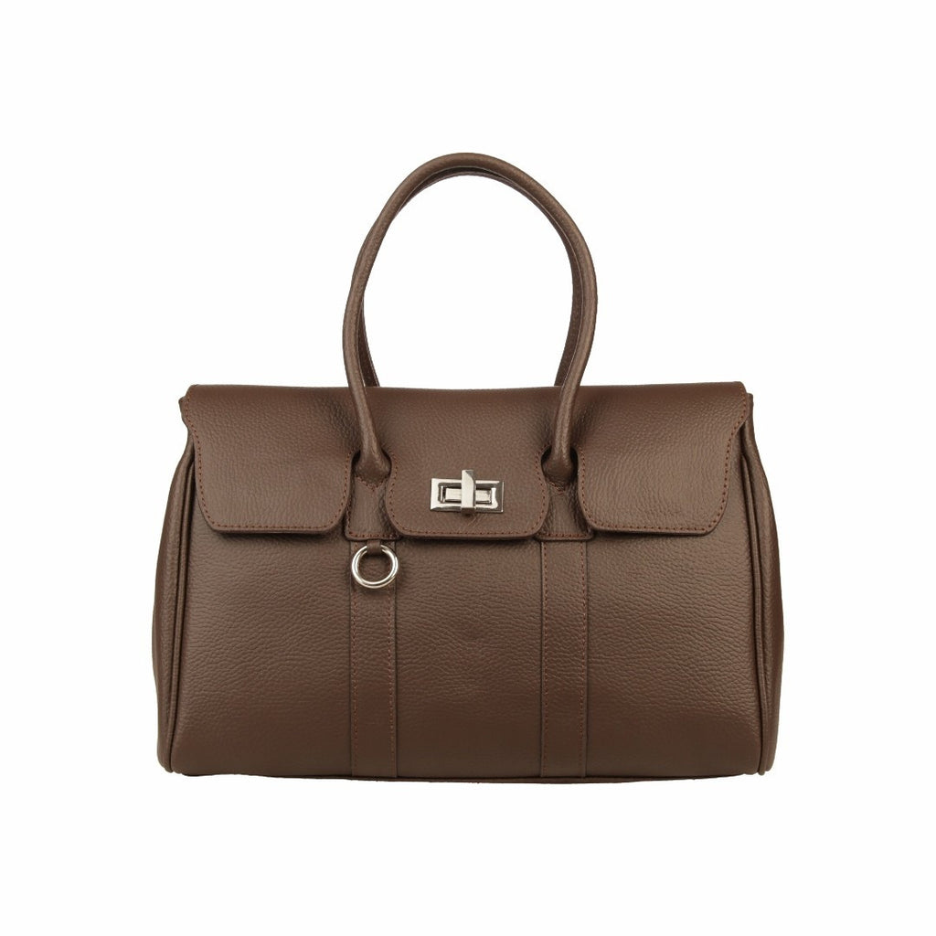MADE IN ITALIA Women's MODENA Leather Top Handle Bag - Fashion Res Publica  - 1