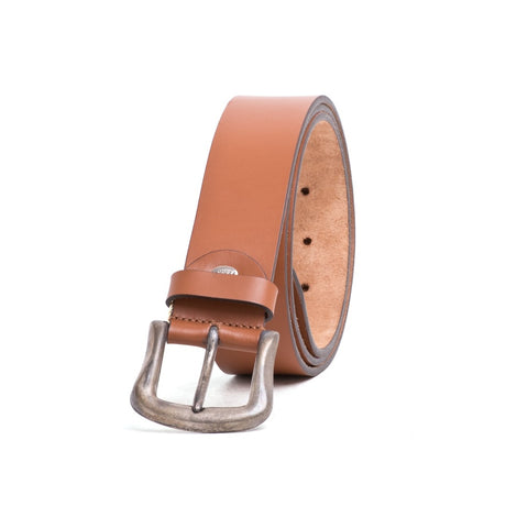 FERRE MILANO Men's Smooth Leather Belt