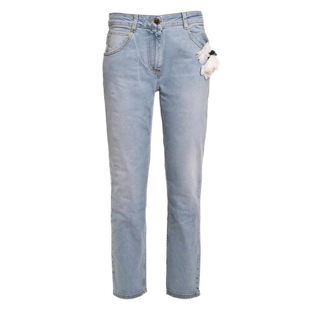 TWIN SET Women's Boyfriend Jeans - Fashion Res Publica  - 1