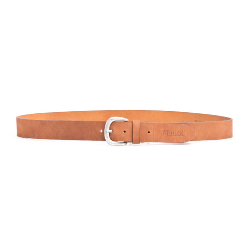 FERRE MILANO Men's Smooth Leather Belt - Fashion Res Publica  - 2