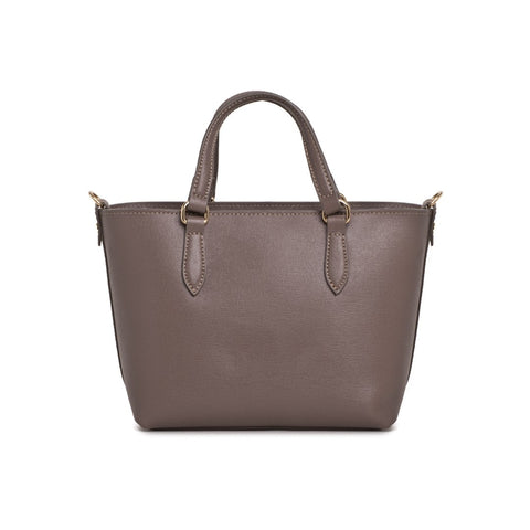 SCERVINO STREET Leather Small Shopping Tote - Fashion Res Publica  - 3