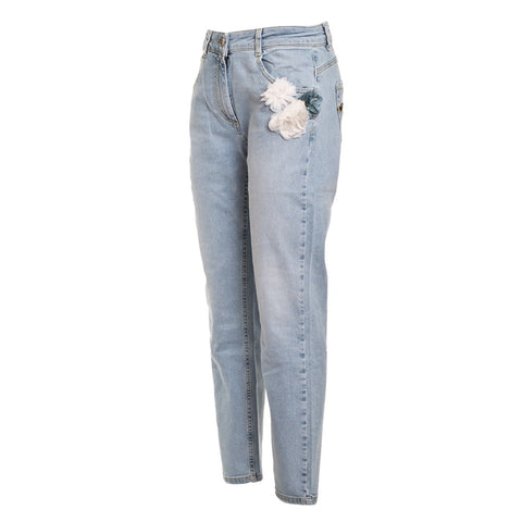 TWIN SET Women's Boyfriend Jeans - Fashion Res Publica  - 2