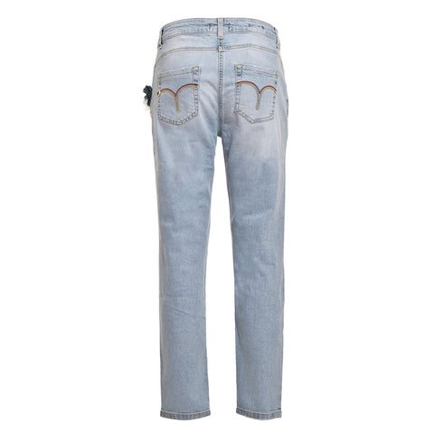 TWIN SET Women's Boyfriend Jeans - Fashion Res Publica  - 3