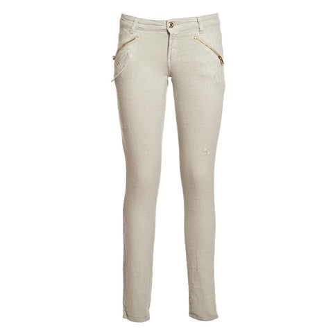 PIERRE BALMAIN Women's Printed Stretch Skinny Jeans