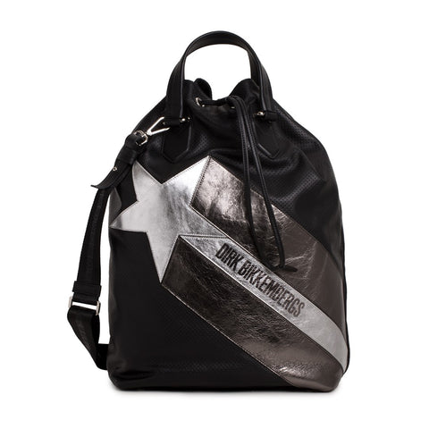 Bikkembergs Sport Couture Men's Leather Tote