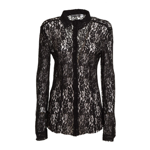 Ermanno by Ermanno Scervino Women's Lace Shirt