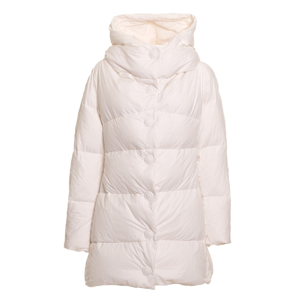 ERMANNO by Ermanno Scervino Down Hooded Coat - Fashion Res Publica  - 1