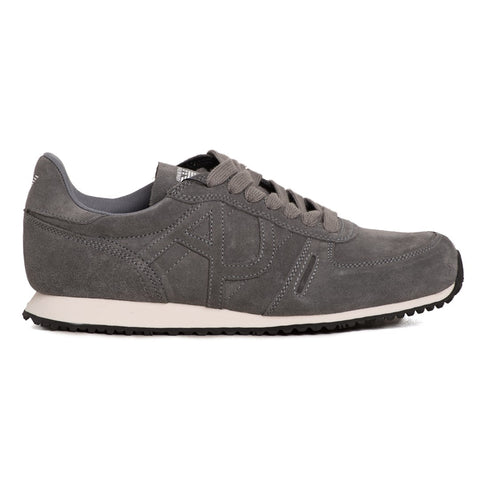 Armani Jeans Men's Suede with Logo Sneakers