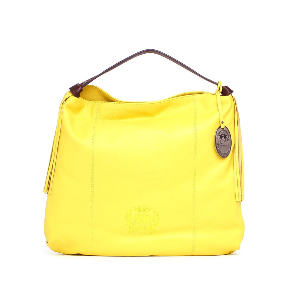 LA MARTINA Women's Yellow Bluberry 001 Hobo Bag - Fashion Res Publica  - 1